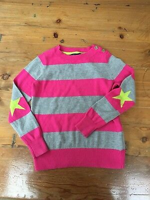 Girls gap kids Jumper Pink/grey Age 6-7