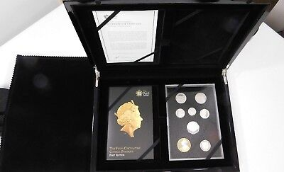 2015 UK 5th COINAGE PORTRAIT SILVER PROOF 8 COIN SET > NO RESERVE <