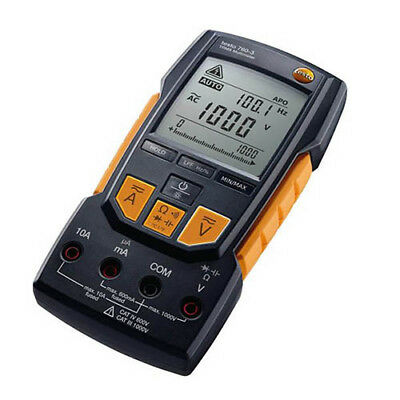 Testo 760-3 (0590 7603) TRMS Multimeter 1000V, AutoTest, Cap, Low Pass