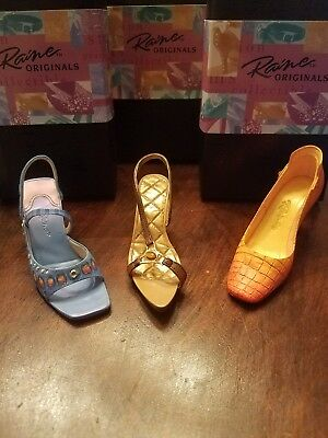 Just The Right Shoe Lot Of 3 - Eye Of The Tiger- Karner Blue- Later Gator