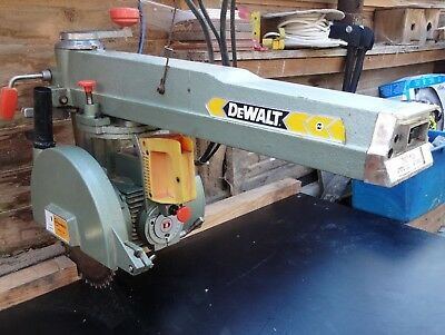240V DeWalt Powershop DW110 Radial Arm Saw