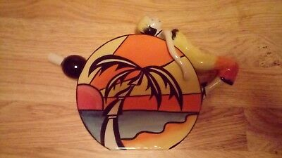 Lorna Bailey very rare limited edition tropical sunset jug