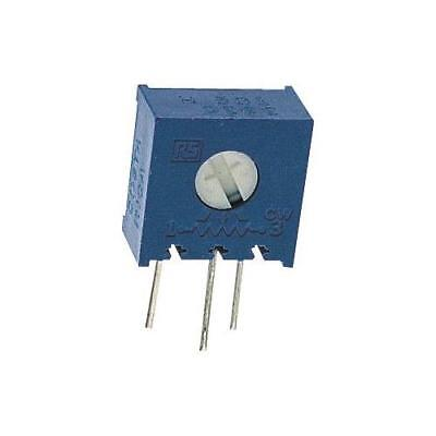 5 x Bourns 3386X Series Cermet Trimmer Resistor, 200Ω ±10% 1/2W ±100ppm/°C