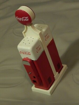 "Coca-Cola [1993] ""Have a Coke"" SALT & PEPPER SHAKER SET ~ Vtg Retro Ltd ~ Soda"