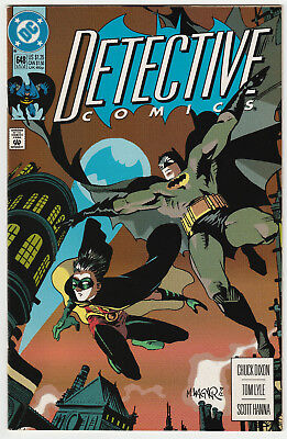 Detective Comics #648 1st Full Appearance of Stephanie Brown as The Spoiler VF/+