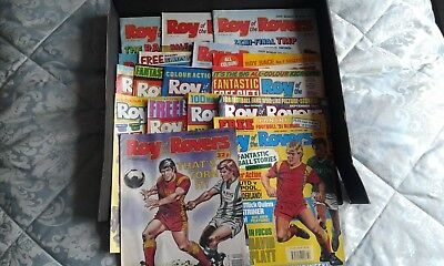 Roy of the rovers comics job lot of 17 from 1990