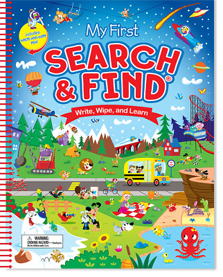 My First Search and Find 9781628850369 - For Preschoolers