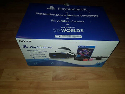 Sony PlayStation VR Brille + 2 Motions Controller + Camera + Spiel
