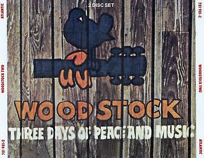 Woodstock - Three Days Of Peace And Music / 2 Cd-Set - Top-Zustand