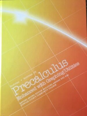 Precalculus Enhanced W Graphing Utilities By Sullivan 7th Edition Hardcover