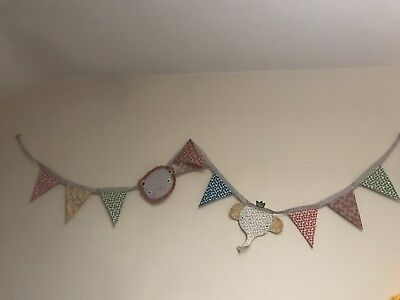 Mamas And Papas Zam Bee Zee Bunting/Jungle Bunting/Nursery Bunting