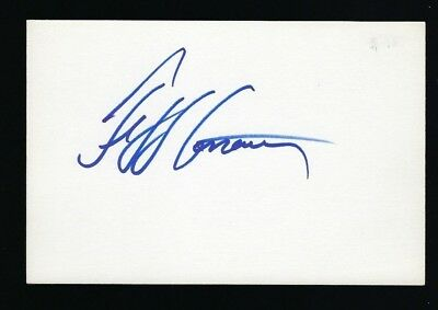 "Jeff Conaway signed autograph 4""x6"" card Taxi, Babylon 5"