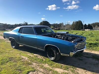 1970 Chevrolet Monte Carlo  First year Monte Carlo with Blown 377 stroker.