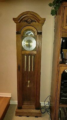 Piper Grandfathers Clock 1979 With Hermle Movement