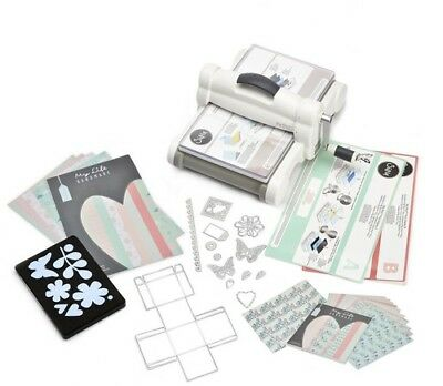 Sizzix Big Shot Plus Starter Kit Stanzmaschine Prägemaschine bis DIN A4