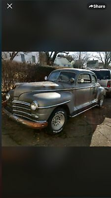 1946 Plymouth Deluxe  1946 Plymouth super deluxe coupe