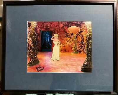 Cool World Original Animation Cell, Ralph Bakshi signed with background
