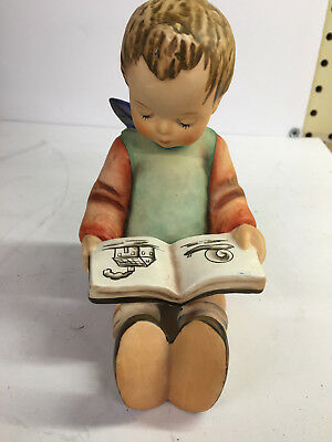 Large M. Hummel Goebel Book Worm Boy West Germany 14/A 1960's Bookend