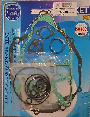Yamaha TW200 Trailway 1988-1996 Complete Engine Gasket Kit Set