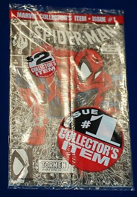 Marvel Sealed #1 Spider-man Comic The Legend of the Arachknight Silver