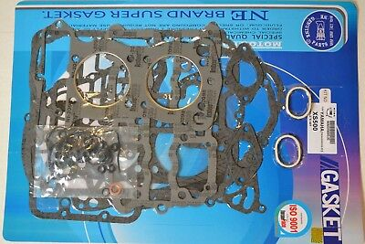 Yamaha 73-74 TX500 75 XS500 Complete Engine Gasket Kit Set