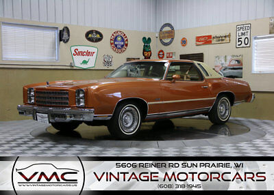 1977 Chevrolet Monte Carlo Landau 357 Miles! - Well Documented History - 2 Owner - Highly Optioned