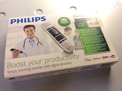 New Philips SpeechMike III USB Microphone Barcode Reader Classic LFH3310