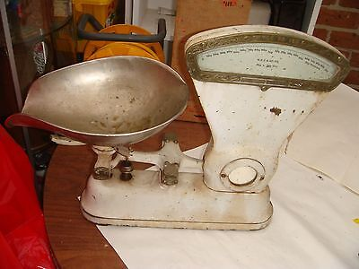 Vintage Scale Style No 167 I  Been Told The Scale Is Dayton Scale But Not Sure