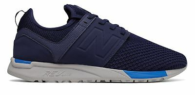 New Balance Men's 247 Sport Shoes Navy with Blue
