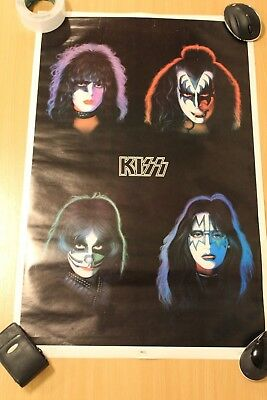 Kiss Poster,  Solo Album Faces.