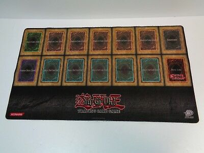 Yu-Gi-Oh! Trading Card Game ORIGINAL 2004 TOP 8 UPPER DECK Vintage Play Mat