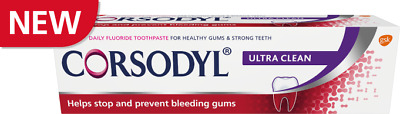 Corsodyl Ultra Clean Toothpaste 75ml X1