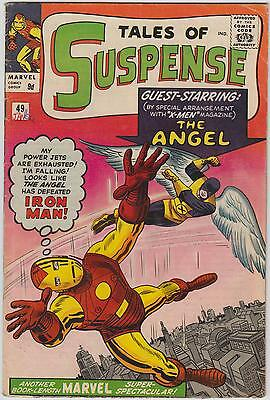 Tales Of Suspense #49, X-men, Avengers, Tales of the Watcher