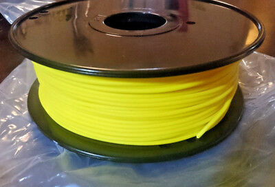 Quality 3D Printer Filament Yellow PLA 3mm 1Kg. Bought by mistake - bargain!