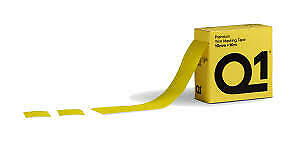 Q1 Automotive Auto Body Trim Masking Tape with 10mm Hard Band 50mm X 10m