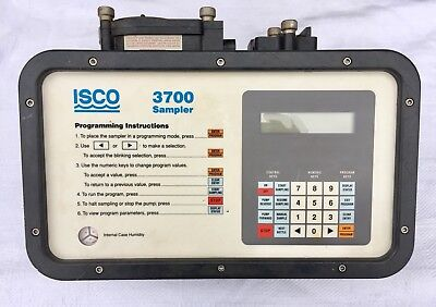 ISCO 3700 Sampler Controller - TESTED & WORKING - FREE SHIPPING