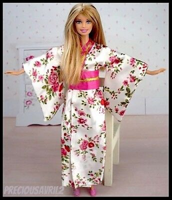 Barbie Doll Clothes - Kimono Dress/Evening/Japanese/Outfit/Clothing/NEW