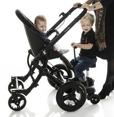 Bumprider + SIT ride / stand Toddler Tandem Seat Board for Pram/Stroller * NEW *
