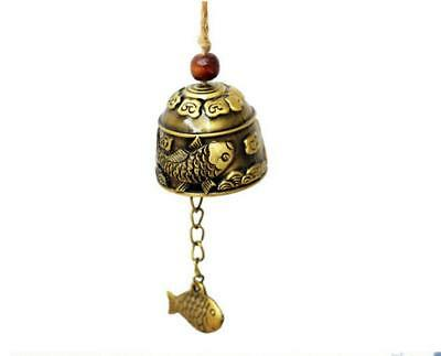 Chinese style Carved Fish Beautiful Bell Hanging Decoration Fengshui Hot