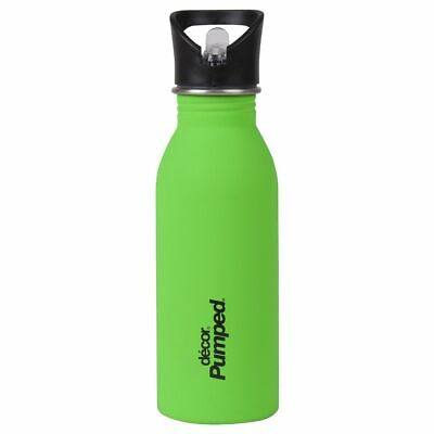 Decor Pumped Soft Touch Stainless Steel Bottle Assorted