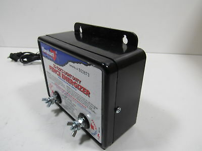 Fi-Shock SS-725CS AC Powered Light-Duty Electric Fence Charger 5-Acre Range