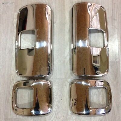 Mercedes Atego Mirror Covers Super Polished Stainless Steel 4 Pcs