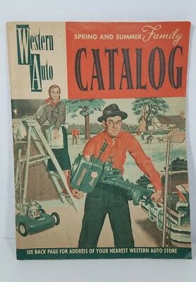 1950s Western Auto catalog vintage hardware ads bikes tools toys spring summer