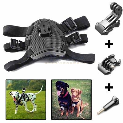 Dog Harness Chest Back Mount Strap Accessories For GoPro Hero 2 3 4 5 Camera