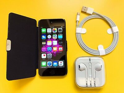 Apple iPOD Touch 5th Generation (16 GB) - Space Gray - iCloud Unlocked