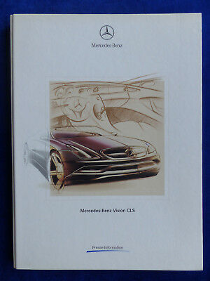 Mercedes-Benz Vision CLS - IAA 2003 Hardcover Pressemappe press-kit 09.2003