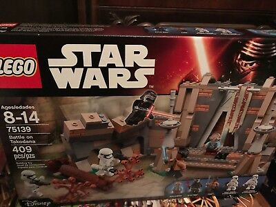 lego 75139 Star Wars Force Awakens Battle on Takodana BRAND NEW