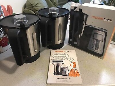Thermochef Jugs X2 And Thermy Cook Books