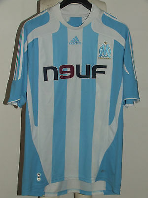 SOCCER JERSEY TRIKOT CAMISETA MAILLOT OLYMPIQUE MARSEILLE MARSEILLE size XL