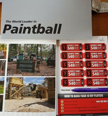 paintball tickets x 30